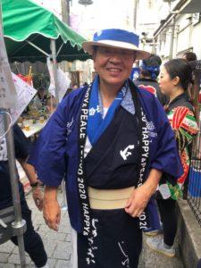 自由が丘 熊野神社例大祭 国際親善神輿 2019