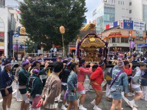 自由が丘 熊野神社例大祭 連合渡御 2019