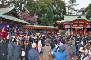 自由が丘 熊野神社節分祭(2020/2/3)